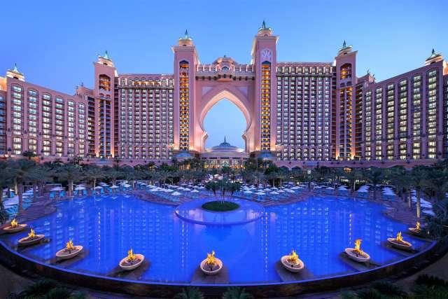 Atlantis hotel, Palm Jumeirah Island