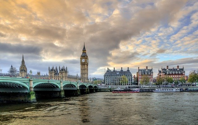 London, United Kingdom is sinking due to climate change