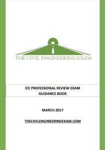 launching  ice professional review exam guidance pack  structural exam