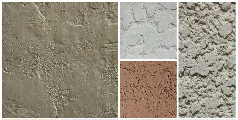 Different Wall Texture Techniques