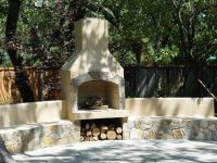 Amazing Outdoor Stucco Fireplace Ideas You Have To See To ...