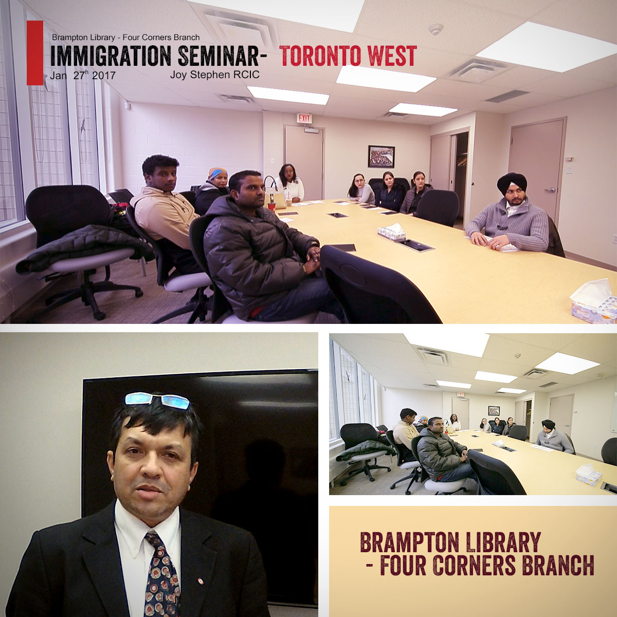 Canada Immigration Seminar by Joy Stephen RCIC