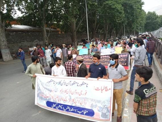 Protest in Gilgit