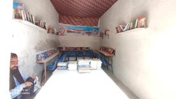 ہرنائی یوتھ آرگنائزیشن اور سی ٹی ڈی کی طرف سے ہرنائی میں لائبریری قائم