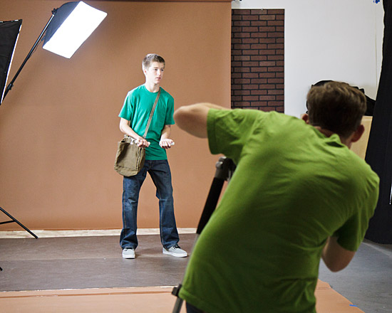 Shane Rebenschied shooting reference photos