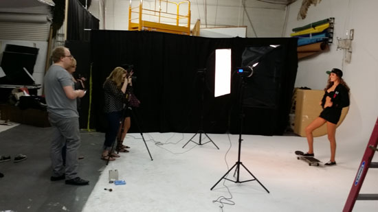 Studio for rent fashion photography
