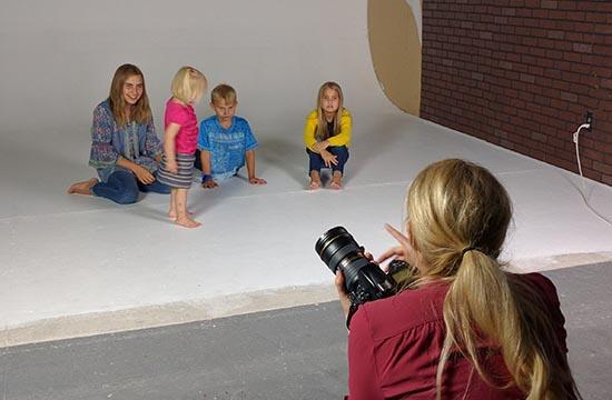 Photography studio rental family portraits phoenix