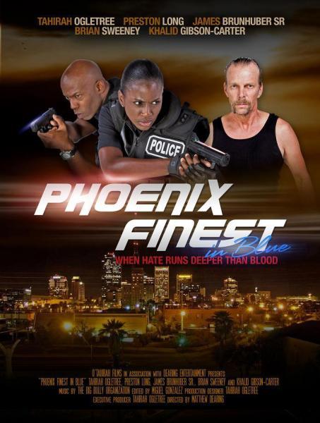 Phoenix Finest in Blue movie poster