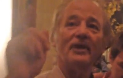Bill Murray drunk