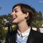 ANNE HATHAWAY LAUNCHES POLITICAL CAREER
