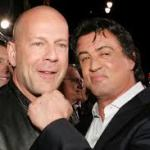 BRUCE WILLIS AND SYLVESTER STALLONE MARRY
