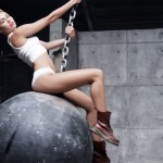 MILEY CYRUS HIT BY WRECKING BALL