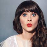 ZOOEY DESCHANEL SIGNS UP FOR QUIRKY QUIRKY KOOK QUIRK