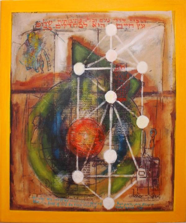 Tree Of Life Hold Jewish Abstract