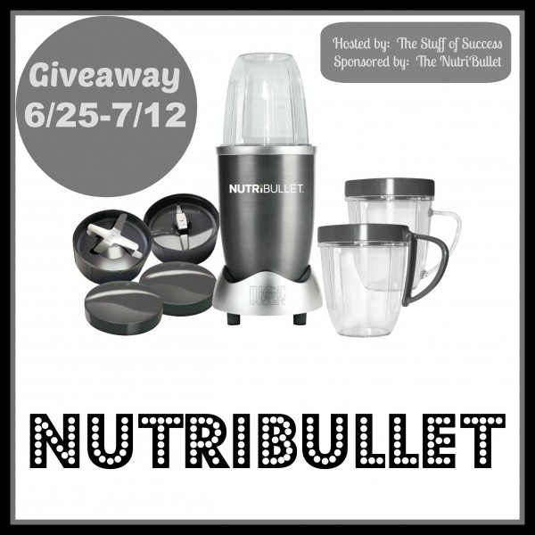 nutribullet giveaway button