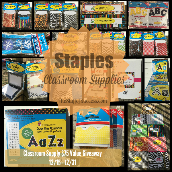 classroom supply giveaway Button