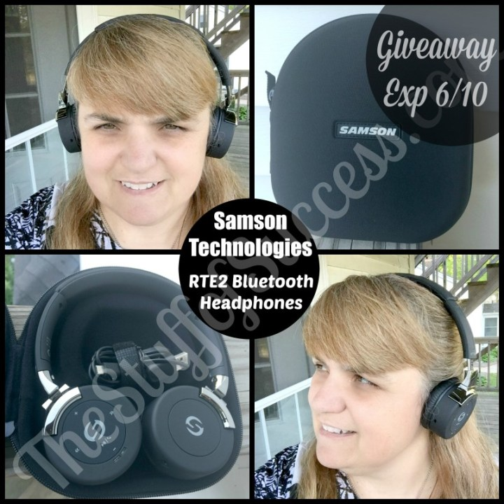 Samson Technologies RTE2 Headphones Giveaway Button
