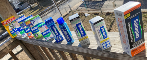 Salonpas - Over The Counter Pain Relief Solutions Giveaway ~ Ends 10/5 #MySillyLittleGang