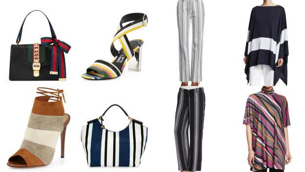 Stripes from Harper's Bazaar