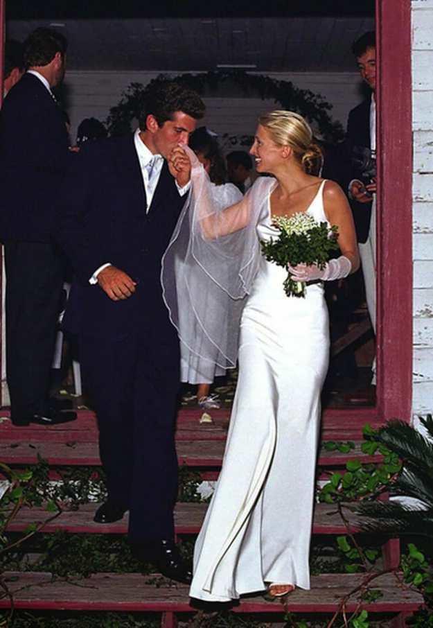 Carolyn Bessette Kennedy Wedding Dress (JFK Jr)