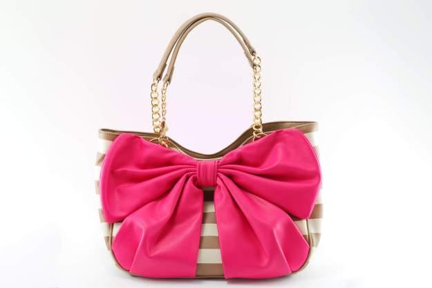 Betsey Johnson Handbag Pink Bow