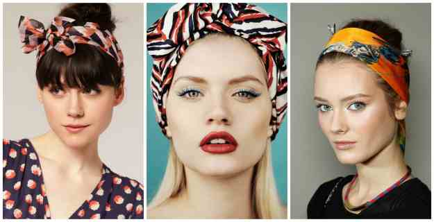 Wrap Your Head for a Stylish Second-Day Hair