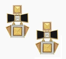 Turn the Corner Earrings, $49, katespade.com