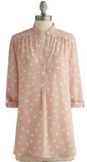 Hosting for the Weekend Tunic in Blush, $37.99, modcloth.com