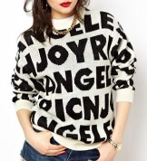 Joy Rich Fontgram Sweater, $58.04, asos.com