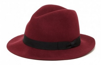 Wool Fedora, $39.95, solesociety.com