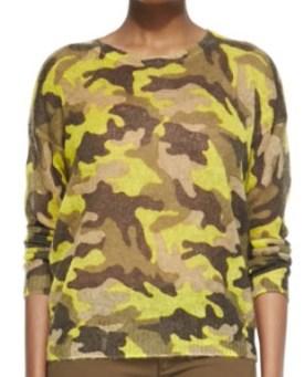 MICHAEL Michael Kors Camo-Print Knit Sweater, $69, neimanmarcus.com