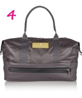 Stella McCartney for Adidas Perforated Shell Gym Bag, $90, theoutnet.com