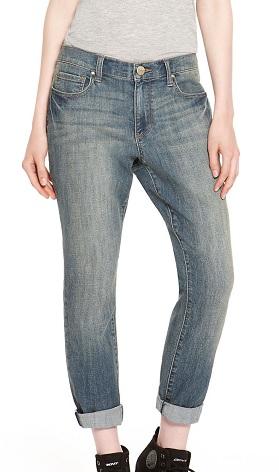 DKNY Bleeker Boyfriend Jeans, $33.99, dkny.com
