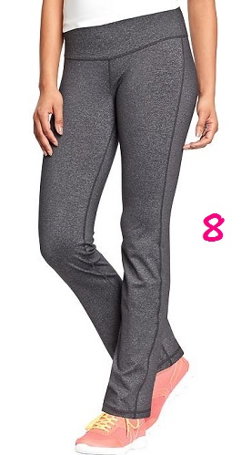 Active Straight Leg Compression Pants, $19, oldnavy.com