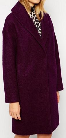 ASOS Coat With Shawl Collar, $161.08, asos.com