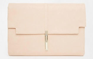 Clutch Bag With Long Lock, $33.63, asos.com