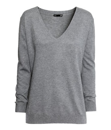 Fine-Knit Sweater, $24.95, hm.com