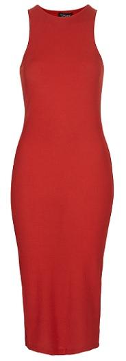 Ribbed Midi Bodycon Dress, $48, topshop.com