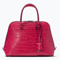 Mock Croc City Bag, $79.90, zara.com