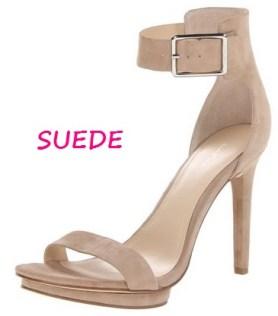 Calvin Klein Women's Vivian Suede Platform Sandal, $40.13, amazon.com
