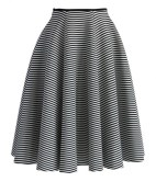 Chic Stripes Airy Full Skirt, $39.87, chicwish.com