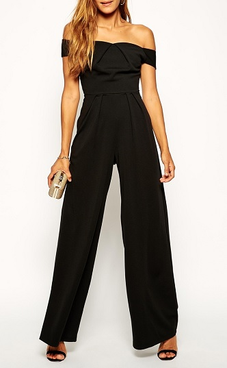 Bardot Jumpsuit With Wide-Leg in Crepe, $72.49, asos.com