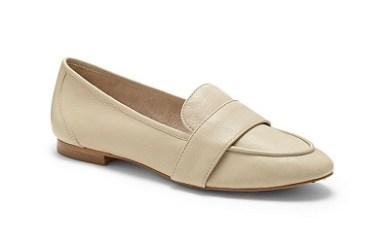 Louise et Cie Fleur Leather Loafer Flats, $89.99, vincecamuto.com