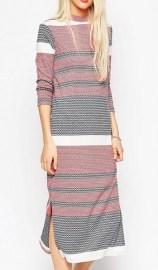 ASOS Striped Column Dress, $82, asos.com