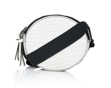 Oval Croc Effect Cross-Body Bag, $15, topshop.com