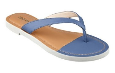 Lighthouse Flat Sandals, $29, ninewest.com