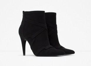 High Heel Rocker Ankle Boots, $49.99, zara.com