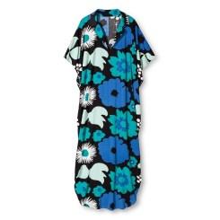 Kukatori Print Kaftan Dress, $34.99