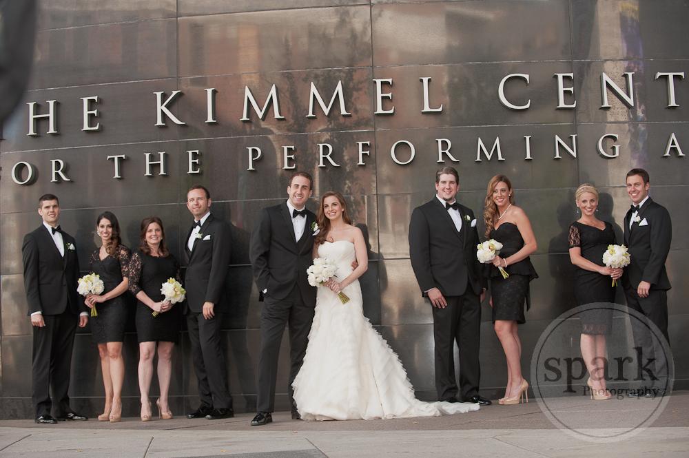 Kimmel Center Bridal Party