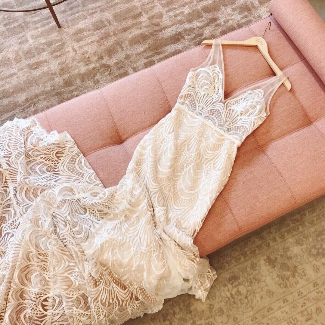 Wedding Dress from Lovely Bride | www.thestyledbride.com
